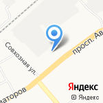 ЯРПРОФИ на карте Ярославля