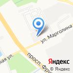 Протек на карте Ярославля