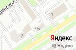 Схема проезда до компании Ивановский текстиль в Ярославле