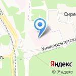 Ярославский областной геронтологический центр на карте Ярославля
