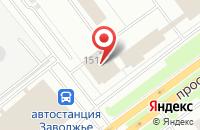 Схема проезда до компании Галактика Информационных Технологий в Ярославле