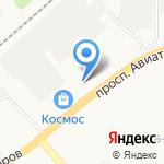 Русский медведь на карте Ярославля