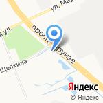 Молния на карте Ярославля