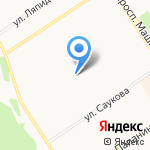 Новая Я на карте Ярославля