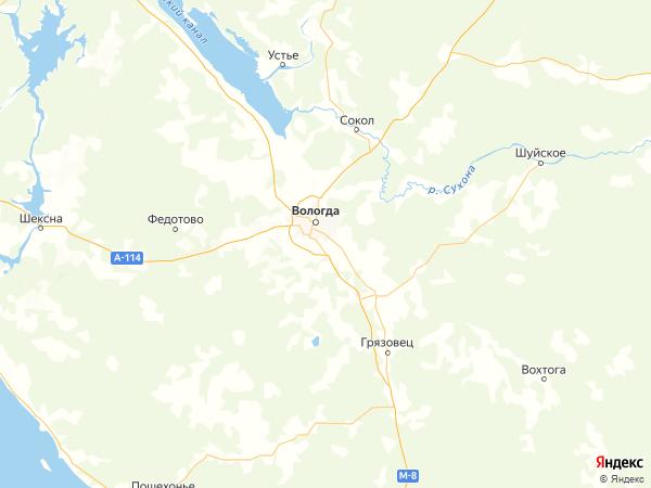 деревня Андреевское на карте