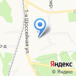 На Моховой на карте Ярославля