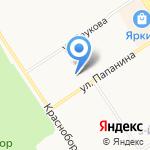 АПТЕКАРЬ на карте Ярославля