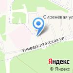 Детский сад №52 на карте Ярославля