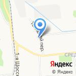 Жар-птица на карте Ярославля