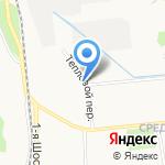 Объединение рабочая одежда и обувь на карте Ярославля