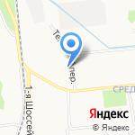 Юнико-фарм на карте Ярославля