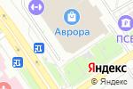 Схема проезда до компании Оптикомания в Ярославле
