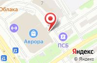 Схема проезда до компании Фонбет в Ярославле