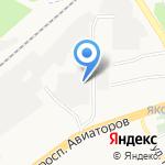 Дунай на карте Ярославля