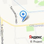 Аленький цветочек на карте Ярославля