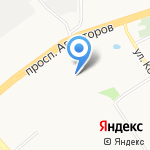 Детский сад №155 на карте Ярославля