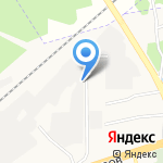 Клен 2000 на карте Ярославля