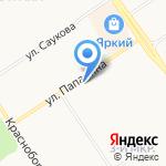 Истоки на карте Ярославля
