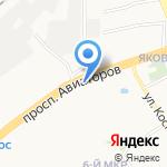 Зайцева С.В. на карте Ярославля