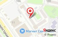 Схема проезда до компании Сигма в Ярославле