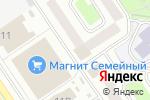 Схема проезда до компании Волжанка в Ярославле