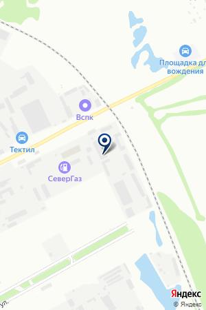 Автодом на карте Вологды