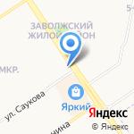 Альтаир на карте Ярославля