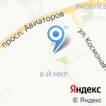 Лад на карте Ярославля