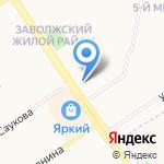 КФК №1 на карте Ярославля