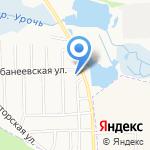 Маячок на карте Ярославля