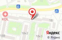 Схема проезда до компании Динамика в Ярославле