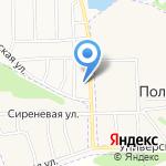 Волжская Ривьера на карте Ярославля