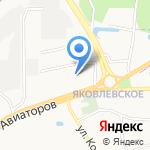 Масленка на карте Ярославля
