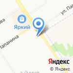 Территориальный отдел по социальной поддержке населения Заволжского района на карте Ярославля