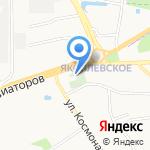 Яковлевско-Благовещенский храм на карте Ярославля