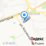 Детский сад №27 на карте Ярославля