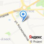 Plaizir Hotel на карте Ярославля