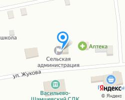 Схема местоположения почтового отделения 347703