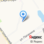 Средняя общеобразовательная школа №83 на карте Ярославля