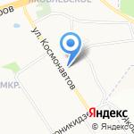 Шармель на карте Ярославля