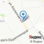 TAZ на карте Ярославля
