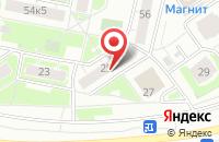 Схема проезда до компании Бакадас в Ярославле