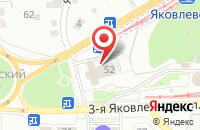 Схема проезда до компании Заволжье в Ярославле