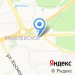 Яръ на карте Ярославля