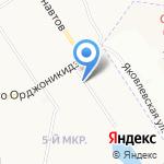 Дама Пик на карте Ярославля