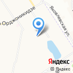 Детский сад №191 на карте Ярославля