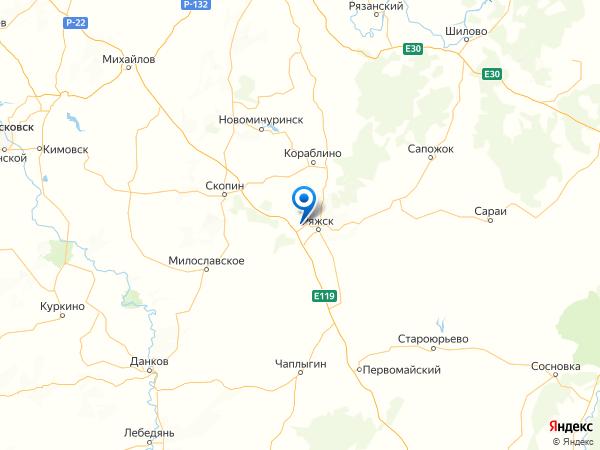 поселок Красный Октябрь на карте