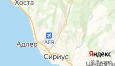 Отели города Молдовка на карте