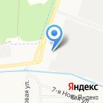 Металлист на карте Ярославля