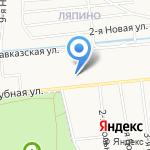 Сауна на Клубной на карте Ярославля
